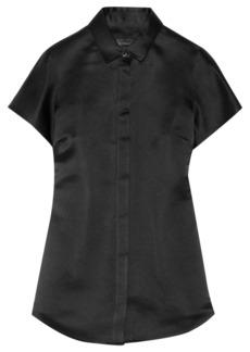 Burberry Prorsum Silk-satin shirt