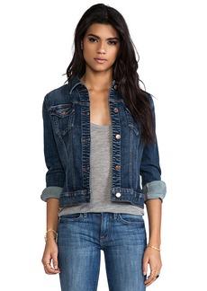 J Brand Distress Jacket in Blue