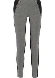 Stella McCartney Lulu two-tone mid-rise skinny jeans