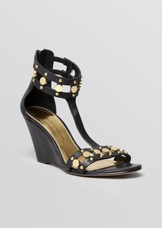Sigerson Morrison Wedge Sandals - Hadiya High Heel