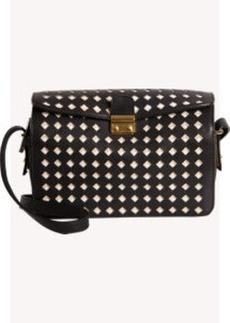 Marni Diamond Cutout Crossbody Bag