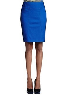 M Missoni Pique Pencil Skirt, Royal