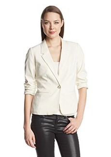 Kensie Women's Stretch Crepe Blazer