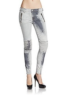 Hudson Super Skinny Moto Jeans