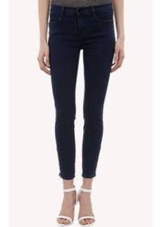 J Brand Cropped Tali Zip Jeans