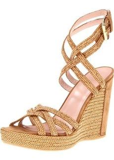Stuart Weitzman Women's Reins Wedge Sandal