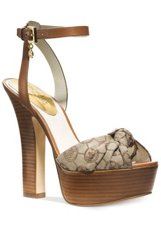 MICHAEL Michael Kors Benji Ankle Strap Platform Sandals
