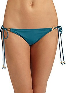Shoshanna Square-Ring String Bikini Bottom