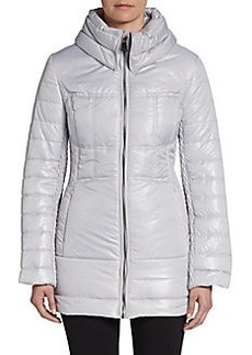 Via Spiga High-Neck Puffer Jacket