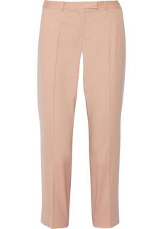 Jason Wu Cropped stretch-wool straight-leg pants