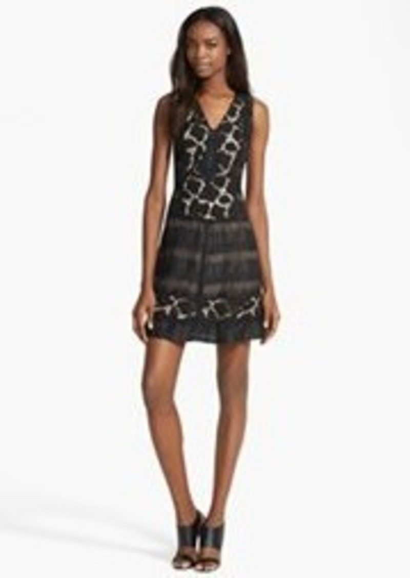 Tracy Reese 'Cabana' Embroidered Dress