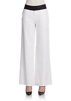 Lafayette 148 New York Wide-Leg Pants