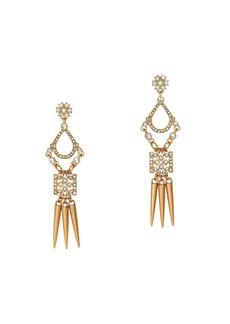 Chandelier spike earrings