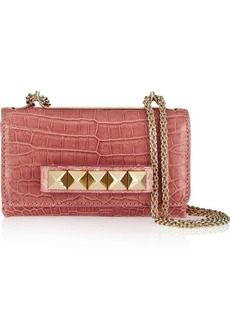 Valentino Va Va Voom alligator shoulder bag