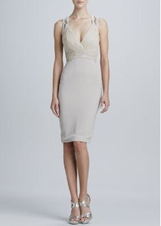 Diane Von Furstenberg Sleeveless V-Neck Cocktail Dress