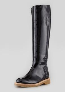 Marni Patent Knee-High Boot