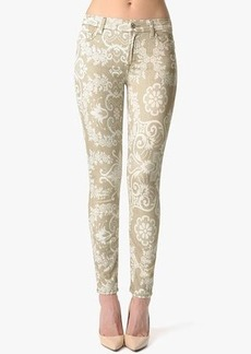 """The Ankle Skinny in Porcelain Print (28"""" Inseam)"""