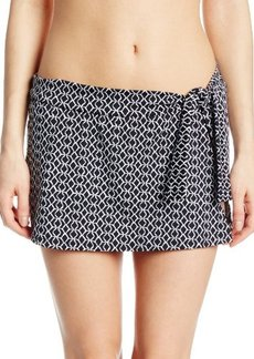 Jones New York Women's Tie-Side Skirt Bikini Bottom