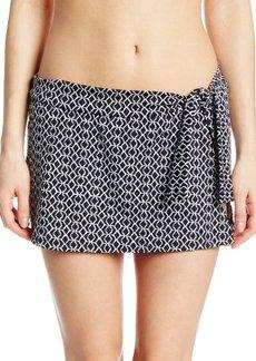 Jones New York Women's Tie-Side Skirt Bikini Bottom