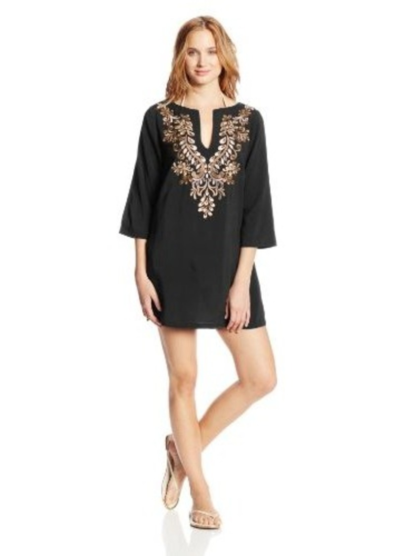 Laundry by Shelli Segal Women's Ibiza Tunic Cover Up