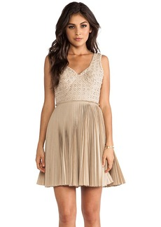 Catherine Malandrino Elli Dress in Tan