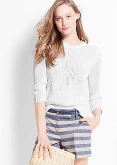 Petite Anchor Sweater