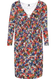M Missoni Printed jersey dress