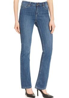 Jones New York Signature Petite Jeans, Straight-Leg Jean, Medium Wash