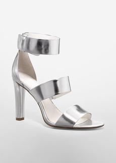 asa metallic high heel sandal