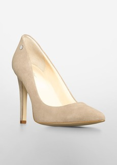 brady suede pointed toe pump
