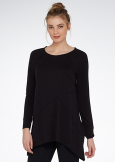 Calvin Klein + Performance Asymmetric Seams Knit Tunic