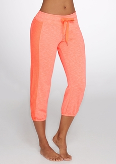 Calvin Klein + Performance Cropped Knit Sweatpants