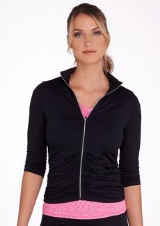 Calvin Klein + Performance Elbow Sleeve Ruched Jacket