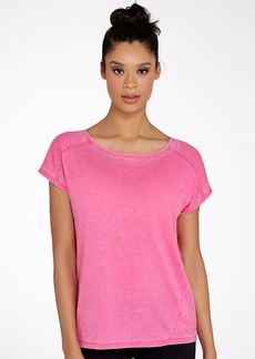 Calvin Klein + Performance Keyhole Back T-Shirt