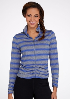 Calvin Klein + Performance Striped Ruched Jacket