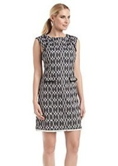 Calvin Klein A-Line Printed Dress