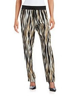CALVIN KLEIN Abstract Drawstring Pants