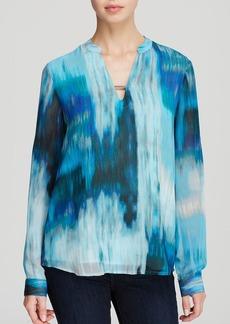Calvin Klein Abstract Print Blouse