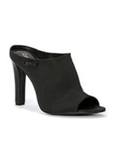 """Calvin Klein """"Agnes"""" Peep-toe Slide Heels"""