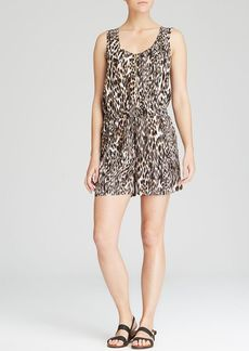 Calvin Klein Animal Print Sleeveless Romper