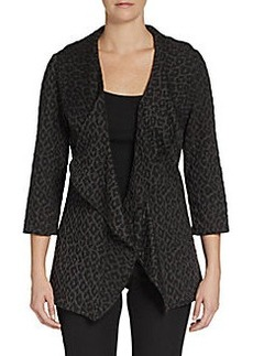 Calvin Klein Animal-Print Woven Jacket