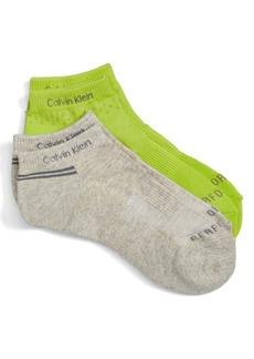 Calvin Klein Ankle Socks (2-Pack)
