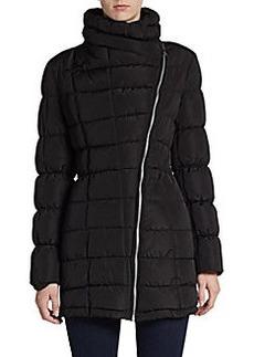 Calvin Klein Asymmetrical Quilted Puffer