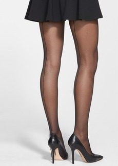 Calvin Klein Back Seam Sheer Pantyhose