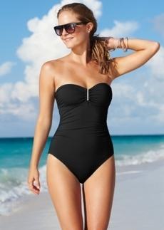 Calvin Klein Bandeau One-Piece Swimsuit Women's Swimsuit