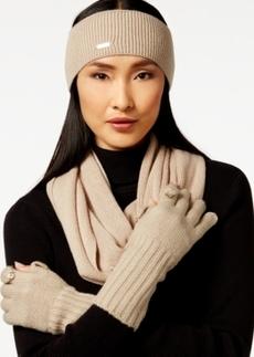 Calvin Klein Basic Loop Scarf, Headband & Glove Set