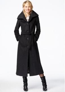 Calvin Klein Belted Maxi Coat