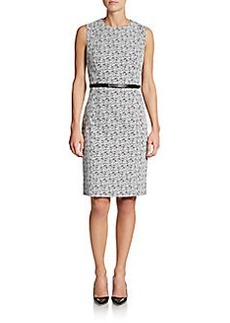 Calvin Klein Belted Sheath Dress