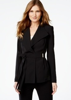 Calvin Klein Belted Wrap Jacket