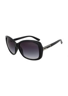 Calvin Klein Black Oversized Square R678S 001 Size 57-17-135